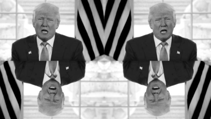 Trump goof image