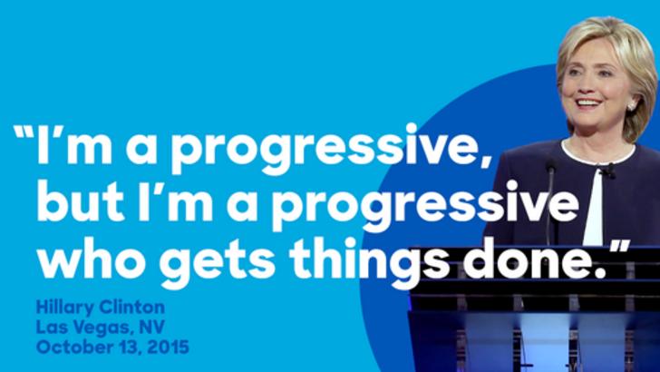Clinton campaign image
